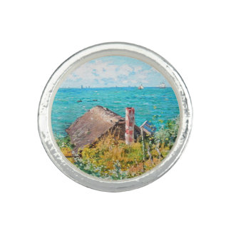 Claude Monet The Cabin At Saint-Adresse Fine Art Ring