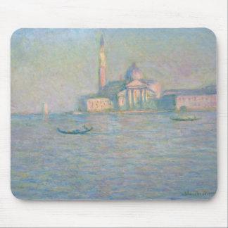 Claude Monet - The Church of San Giorgio Maggiore, Mouse Pad