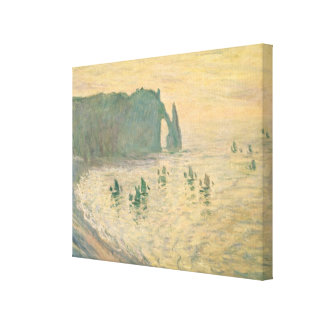 Claude Monet | The Cliffs at Etretat, 1886 Canvas Print