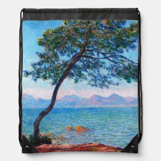 Claude Monet: The Esterel Mountains Drawstring Bag