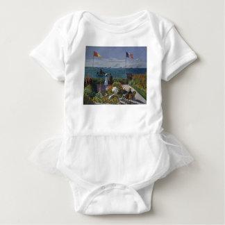 Claude Monet - The Garden at Sainte Adresse Art Baby Bodysuit