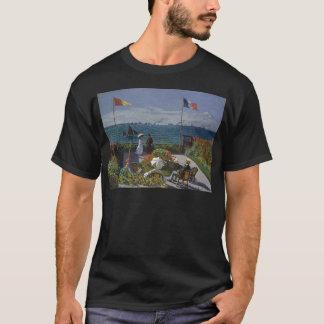 Claude Monet - The Garden at Sainte Adresse Art T-Shirt