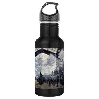 CLAUDE MONET - The Gare St-Lazare 1877 532 Ml Water Bottle