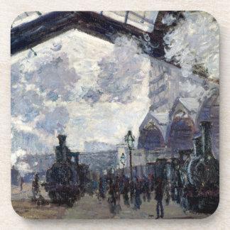 CLAUDE MONET - The Gare St-Lazare 1877 Coaster
