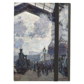 CLAUDE MONET - The Gare St-Lazare 1877 iPad Air Case