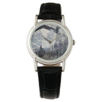 CLAUDE MONET - The Gare St-Lazare 1877 Watch