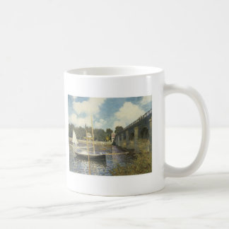 Claude Monet The Highway Bridge At Argenteuil Mug