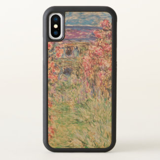 Claude Monet The House Among the Roses GalleryHD iPhone X Case