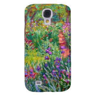 Claude Monet: The Iris Garden at Giverny Samsung Galaxy S4 Cover