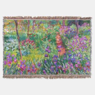 Claude Monet: The Iris Garden at Giverny