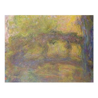 Claude Monet | The Japanese Bridge, 1918-24 Postcard