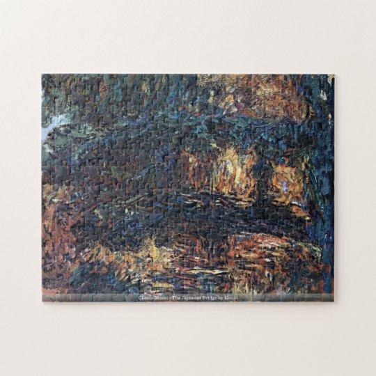 Claude Monet - The Japanese Bridge by Monet Jigsaw Puzzle