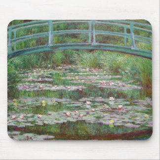 Claude Monet - The Japanese Footbridge Mouse Pad