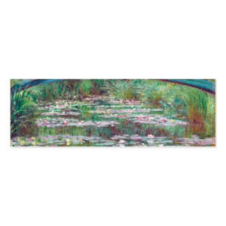 Claude Monet The Japanese Footbridge Pack Of Skinny Business Cards