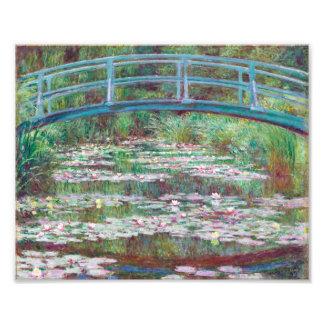 Claude Monet The Japanese Footbridge Photo Art
