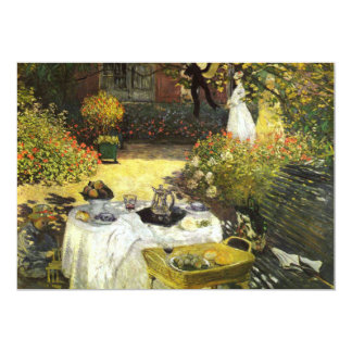 Claude Monet: The Lunch Card