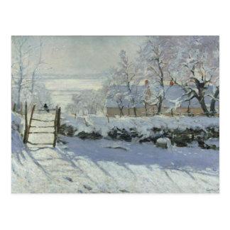 Claude Monet - The Magpie Postcard