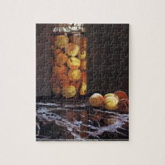 Claude Monet - The Peach Glass Jigsaw Puzzle