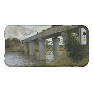 Claude Monet - The Railroad bridge in Argenteuil Barely There iPhone 6 Case