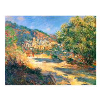 Claude Monet The Road to Monte Carlo Postcards