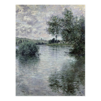 Claude Monet | The Seine at Vetheuil, 1879 Postcard