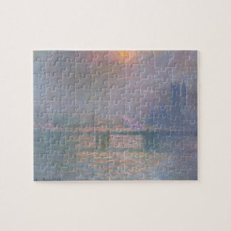 Claude Monet | The Thames with Charing Cross Jigsaw Puzzle