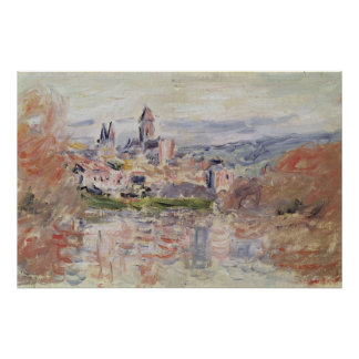 Claude Monet | The Village of Vetheuil, c.1881 Poster