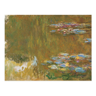 Claude Monet - The Water Lily Pond Postcard