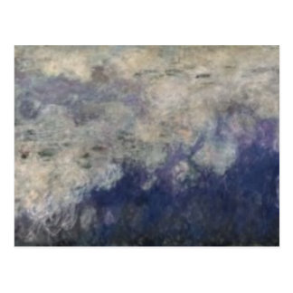 Claude Monet | The Waterlilies The Clouds, 1914-18 Postcard