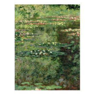 Claude Monet | The Waterlily Pond, 1904 Postcard