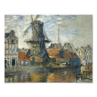 Claude Monet - The Windmill on the Onbekende Photograph