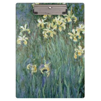 Claude Monet | The Yellow Irises Clipboard
