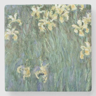 Claude Monet | The Yellow Irises Stone Coaster