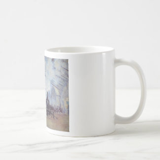 Claude Monet Train Station Popular Vintage Art Coffee Mug
