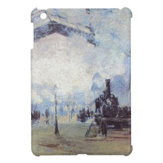 Claude Monet Train Station Popular Vintage Art iPad Mini Cases
