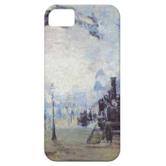 Claude Monet Train Station Popular Vintage Art iPhone 5 Cases