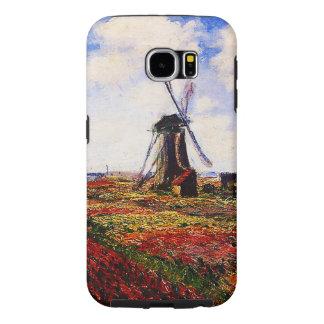 Claude Monet-Tulips Fields Samsung Galaxy S6 Cases