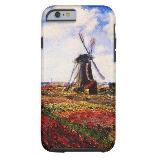 Claude Monet-Tulips Fields Tough iPhone 6 Case