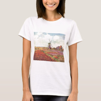 Claude Monet Tulips in Holland T-Shirt