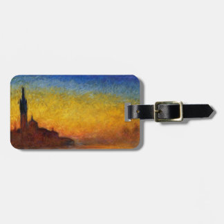 Claude Monet // Venice Twilight Luggage Tag