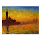 Claude Monet // Venice Twilight Postcard