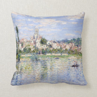 Claude Monet Vétheuil in Summer Cushion