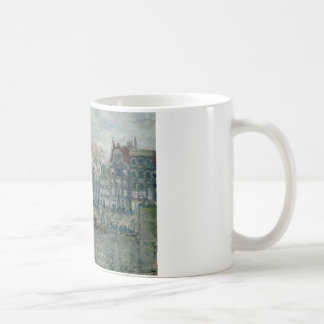 Claude Monet - View of the Prins Hendrikkade Coffee Mug