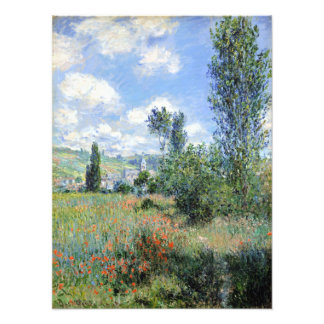 Claude Monet View of Vétheuil Photo Print