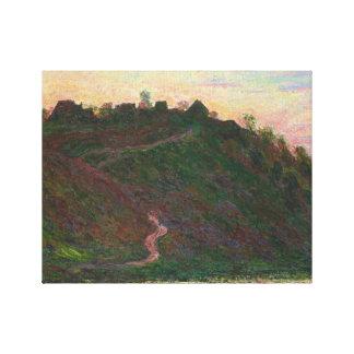 Claude Monet - Village of La Roche-Blond Canvas Print
