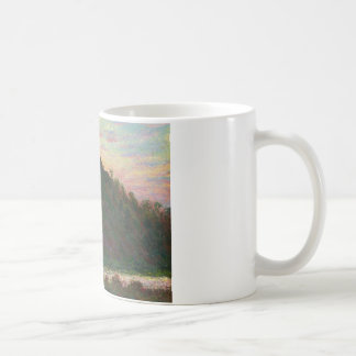 Claude Monet - Village of La Roche-Blond Coffee Mug