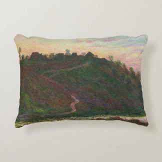 Claude Monet - Village of La Roche-Blond Decorative Cushion