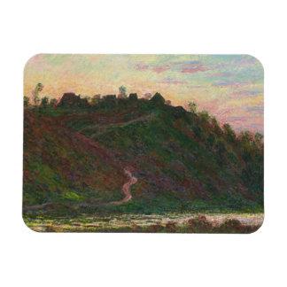 Claude Monet - Village of La Roche-Blond Rectangular Photo Magnet