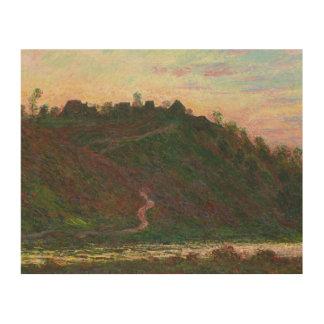 Claude Monet - Village of La Roche-Blond Wood Wall Art