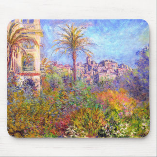 Claude Monet: Villas at Bordighera Mouse Pad